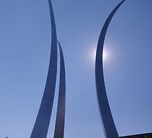 Air Force Memorial by JasSanchez