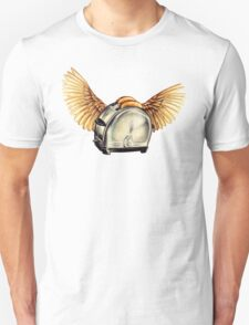 Flying Toasters Unisex T-Shirt
