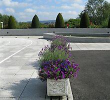 Pretty-in-Purple Flower Displays by kathrynsgallery