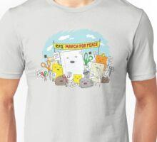 Paper Hugs Rock Unisex T-Shirt