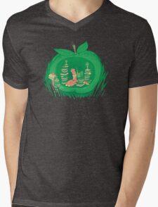 The Bookworm's Haven Mens V-Neck T-Shirt