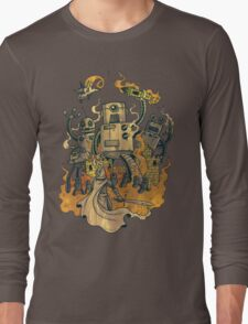 The Robots Come Out At Knight Long Sleeve T-Shirt