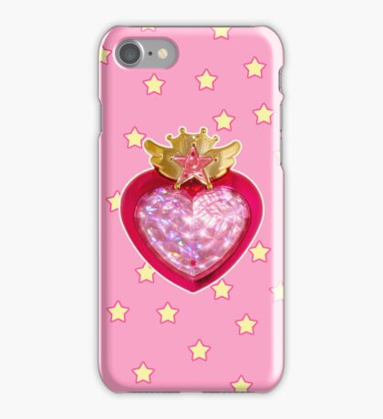 Starry Chibi Moon Compact iPhone Case/Skin