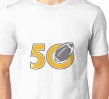 50 Pro Football Championship Ball Unisex T-Shirt