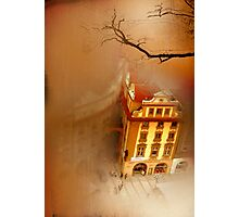 Looking Down-where the city sleeps Photographic Print