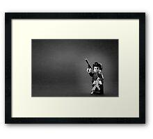 Special Agent L Framed Print
