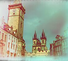 Prague in Spring by Designmaus