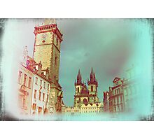 Prague in Spring Photographic Print