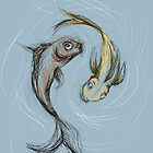 Fish sketch by s1lence