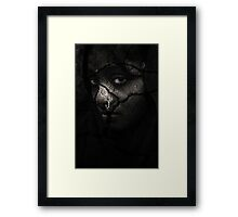 Sad Look Framed Print