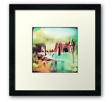 Spain-time is always now. Framed Print
