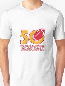 50 Pro Football Championship Santa Clara T-Shirt