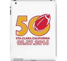50 Pro Football Championship Santa Clara iPad Case/Skin