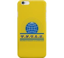 The Man From UNCLE iPhone Case/Skin