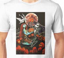 Jack and Sally Pumpkin Patch  Unisex T-Shirt