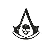 Assassins Creed - Black Flag GRUNGE Photographic Print