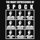Spock&#x27;s Facial Expressions [ star trek spock ] by picky62