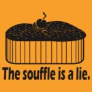 Doctor Who Portal the Souffle is a lie black by Tardis53