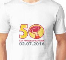 50 Pro Football Championship Sunday 2016 Unisex T-Shirt