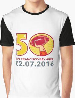 50 Pro Football Championship Sunday 2016 Graphic T-Shirt