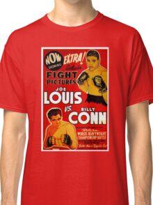 Joe Louis vs Billy Conn Classic T-Shirt