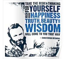 Christopher Hitchens: Think For Yourself Poster