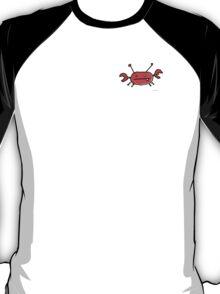 Crab left pocket zip hoodie T-Shirt