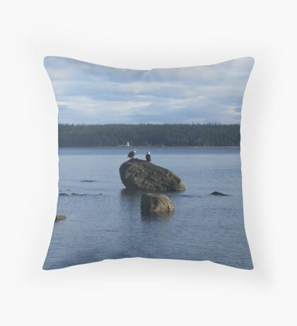 endangered  Throw Pillow