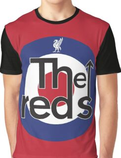 The Reds - Liverpool FC Mods Graphic T-Shirt