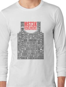 MST3K: The many names of David Ryder Long Sleeve T-Shirt