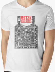 MST3K: The many names of David Ryder Mens V-Neck T-Shirt