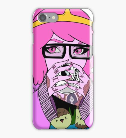 Adventure Time - It's Coffee Time (Princess Bubblegum) iPhone Case/Skin