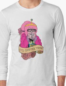 Adventure Time - It's Coffee Time (Princess Bubblegum) Long Sleeve T-Shirt