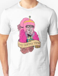 Adventure Time - It's Coffee Time (Princess Bubblegum) Unisex T-Shirt