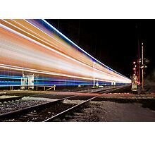 2008 Canadian Pacific Holiday Train Photographic Print