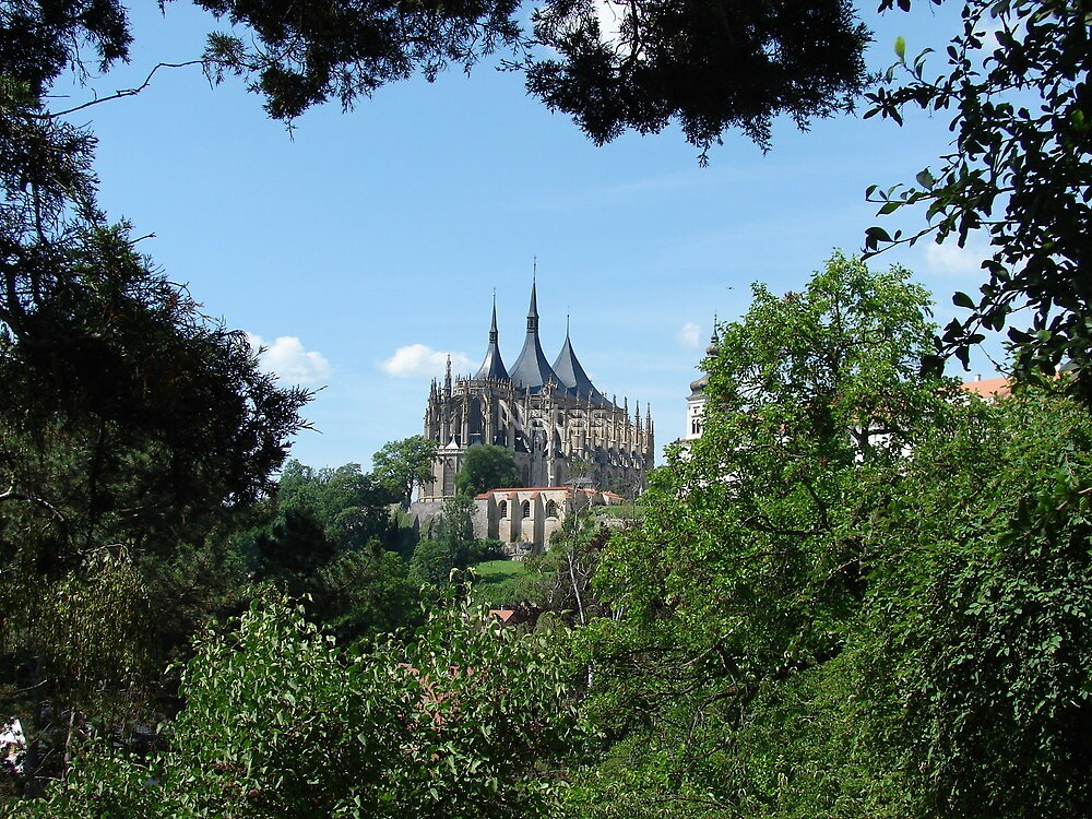 Historic town of Kutna Hora by Natas