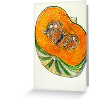 Jap pumpkin Greeting Card