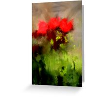 A handful of roses Greeting Card