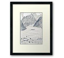 Vacation. #16 Framed Print