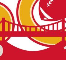50 Pro Football Championship SF Bay Area 2016 Sticker