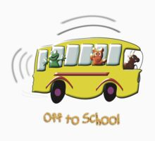 Off to School T-shirt design by Dennis Melling