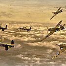 Attack from Above by Steven  Agius
