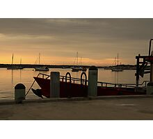 Harbour Sunrise Photographic Print