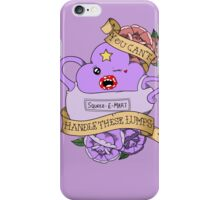 Adventure Time - You Can't Handle These Lumps iPhone Case/Skin