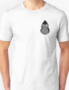 Grumpy-Goofy Gorilla Unisex T-Shirt