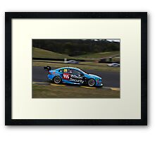 V8 Supercars - Sydney 400 2015 - Scott McLaughlin - Volvo Framed Print