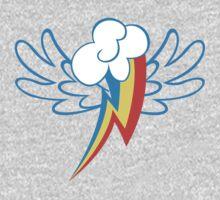 Rainbow Dash Cutie Wings One Piece - Long Sleeve