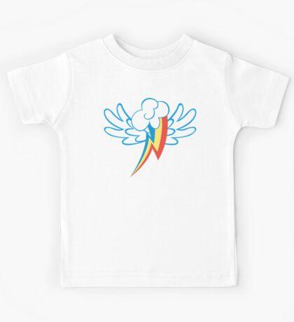Rainbow Dash Cutie Wings Kids Tee