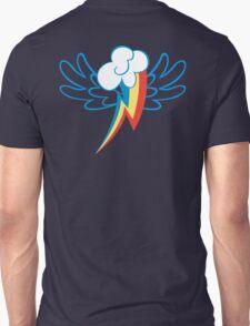 Rainbow Dash Cutie Wings Unisex T-Shirt