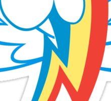 Rainbow Dash Cutie Wings Sticker